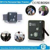 Buy cheap 2016 newest gps personal tracker small for europe with sos button reachfar rf-v16 from wholesalers
