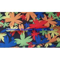 Buy cheap Water Repellent Garment Poly Twill Fabric  Drill Microfiber Peach Skin Floral Printing from wholesalers