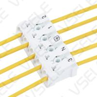 Buy cheap Mini Fast Push In Terminal Block Allocate LED Strip Light Quick Wiring from wholesalers