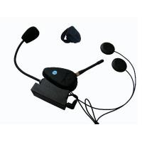 Buy cheap Real Two-Way Wireless Intercom Bluetooth Handsfree Kit Motorcycle Helmet Headsets from wholesalers