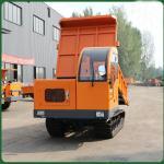 Buy cheap All Terrain Crawler Transport 5T Track Dump Trucks from wholesalers