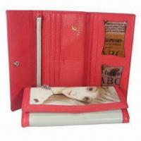 Wholesale Women's Wallet, Gusset Bill Compartment, Snap Closure and Sized 19.2 x 10 x 2.5 from china suppliers