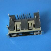 Buy cheap 7Pin 90 angle  type female connector right angle SATA Connector,Double row inserts from wholesalers
