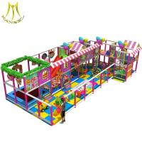 Buy cheap Hansel baby gym equipment in kids playground houses indoor naughty castle from wholesalers