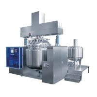 Buy cheap Pharmaceutical Ointment Vacuum Emulsifying Mixer With Kettle Cover from wholesalers