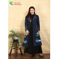 China 100% Cotton Chinese Embroidered Winter Coats Traditional China National Costume on sale