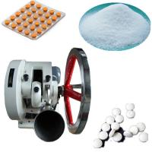 China Medicine Powder Single Punch Pill Press Machine Pharmaceutical Manufacturing Equipment on sale