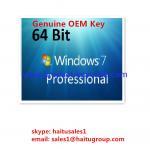 Buy cheap Microsoft Windows Product Key Windows 7 Professional OEM Key 32 / 64Bit from wholesalers