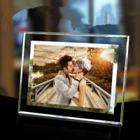 Buy cheap Promotional Rectangle Glass Table Top Photo Frames With 12 Colors Available from wholesalers