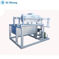 Buy cheap 4 Mold Egg Forming Machine , 800 - 1100 PCS Pulp Tray Machine With Dryer from wholesalers