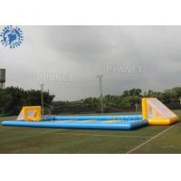 Buy cheap Custom Inflatable Sports Games / Outdoor Inflatable Soccer Field Football Pitch product