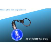 2D Crystal Personalized Key Chain- Octagon/crystal keychain/key chain/key ring/keyring Manufactures