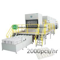 Buy cheap high egg tray molding machine paper pulp molding machine from wholesalers