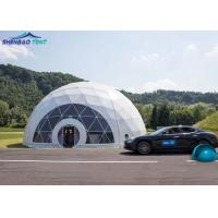 Buy cheap Customized PVC Geodesic Dome Event Tent for Camping Car Parking from wholesalers