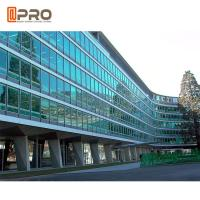 Buy cheap Facade Reflective Glass Invisible Aluminium Curtain Wall For Building Exterior from wholesalers
