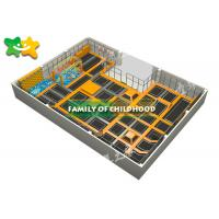 Buy cheap Indoor Trampoline Park Equipment , Kids Exercise Trampoline Easy Installation from wholesalers