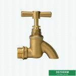 Buy cheap New Design Original Brass Color Garden Tap Brass Bibcock Valve Water Tap Brass Faucet from wholesalers