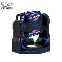 Wholesale 2 Person Iron Warrior 9D VR Roller Coaster Simulator VIULUX V8 Glasses from china suppliers