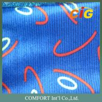 Fashion Colorful Printing Auto Upholstery Fabric / automotive interior fabric Manufactures