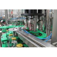 Buy cheap Fresh Apple Beverage Glass Bottle Hot Juice Filling Machine With Return System from wholesalers