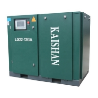 Buy cheap Industry Used Kaishan 22kw 30hp LG22-13GA Chinese Industrial Electric Screw Type Air Compressor from wholesalers