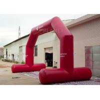 Wholesale High Strength Red Custom Inflatable Arch CE / UL Air Blower Easy Operation from china suppliers