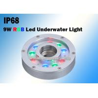 9W RGB DC12V/24V Underwater LED Fountain Lights Made of Stainless Steel Manufactures