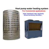 Wholesale Non Pressurized Commercial Heat Pump Water Heater , Air Conditioner Water Heater from china suppliers