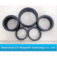 Buy cheap 72mm O.D x 39mm I.D x 10mm thick Y30BH Ferrite Ring Magnet from wholesalers