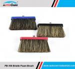 Buy cheap Soft 100% Natural Hog Hair Bristle Brush Set with Soap car wash brush from wholesalers