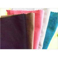 Buy cheap Classic Soft Corduroy Fabric 60 Cotton 40 Polyester Breathable Uv Resistant from wholesalers