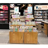 Buy cheap Anti Corrosive Cosmetic Display Shelves Makeup Display Table OEM / ODM Welcome from wholesalers