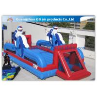 Buy cheap 12m Inflatable Sports Games Inflatable Football Pitch Soccer Field With Air Mat from wholesalers
