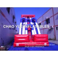 Buy cheap Customized Fashion PVC Vinyl Inflatable Blow Up Slide With Air Blower / Repair Kits from wholesalers