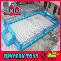 Buy cheap F-014 Sunpeak With Protective Net Soccer Field Synthetic Cost from wholesalers