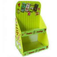 Buy cheap Two Tiered Cardboard Counter Display For Post / Greeting Cards , 4 Color Printing PDQ Displays from wholesalers