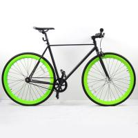 Wholesale Matte Black High End 700C Custom Fixed Gear Bike Fixie Bicycle from china suppliers