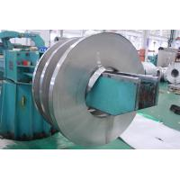 Buy cheap JIS / ASTM Mirror Finished Cold Rolled Stainless Steel Strips 201 HL Tisco Mill product