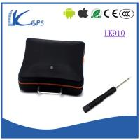 Buy cheap Best selling sim card gps tracking device google maps gps mini tracker with sos button for car personal Black LK910 from wholesalers