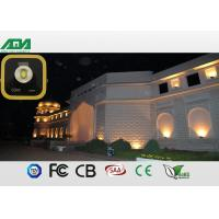 High output led parking lot flood lights , industrial flood lights outdoor high powered Manufactures