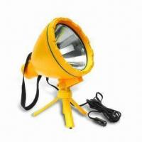 Buy cheap Handheld Spotlight with 12V DC Voltage and 100W Power from wholesalers