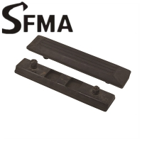 Buy cheap Kubota Yanmar 300mm Bolt Excavator Rubber Track Pads from wholesalers