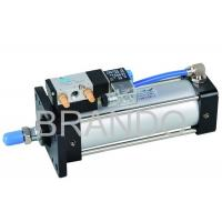 Buy cheap 4V Series Aluminum Air Cylinder Valve Double Acting , Cylinder Solenoid Valve from wholesalers