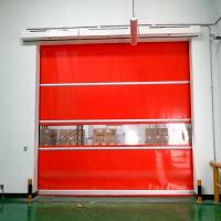 Buy cheap Automatic radar sensor roll up high speed door from wholesalers