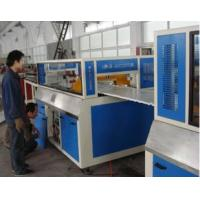 Buy cheap Fully automatic Wood Plastic Composite Extrusion Line With Online Lamination For Making Furniture Board from wholesalers