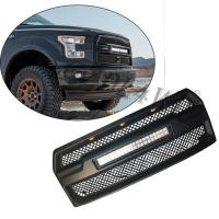 Buy cheap Raptor Style Auto Front Grill Mesh with 120w LED Bar For Ford F150 2015-2017 from wholesalers