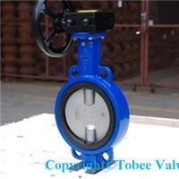 Buy cheap Wafer Type Double Eccentric Butterfly Valve from wholesalers