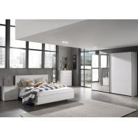 Buy cheap E1 Panel/ White Light Wood Grain Melamine Bedroom Furniture/ Sliding Wardrobe from wholesalers