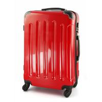 Wholesale 20'' ABS Trolley Luggage Red Travel Bag Pc Trolley Case With Customize Logo from china suppliers