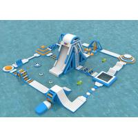 Buy cheap Sea Inflatable Floating Water Park , Giant  Adult Inflatable Water Splash Park Equipment from wholesalers